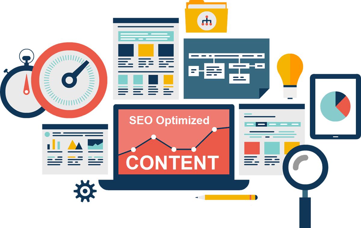 Оптимизация контента бизнес сайта