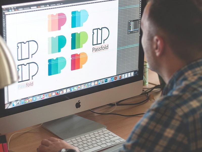 Форма в дизайне логотипов