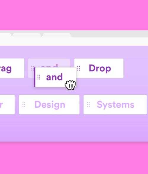 Drag and Drop в дизайне сайтов и приложений