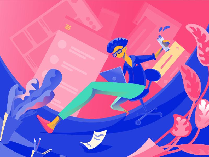 Яркие цвета в UI дизайне: сильные и слабые стороны