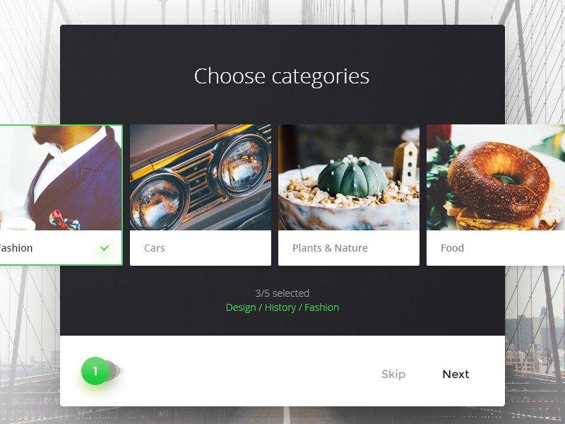 категории в дизайне