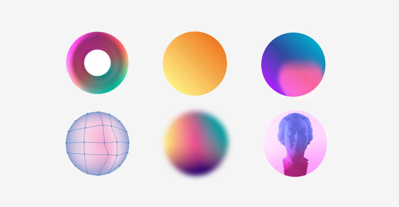 Трендовые градиенты в веб-дизайне