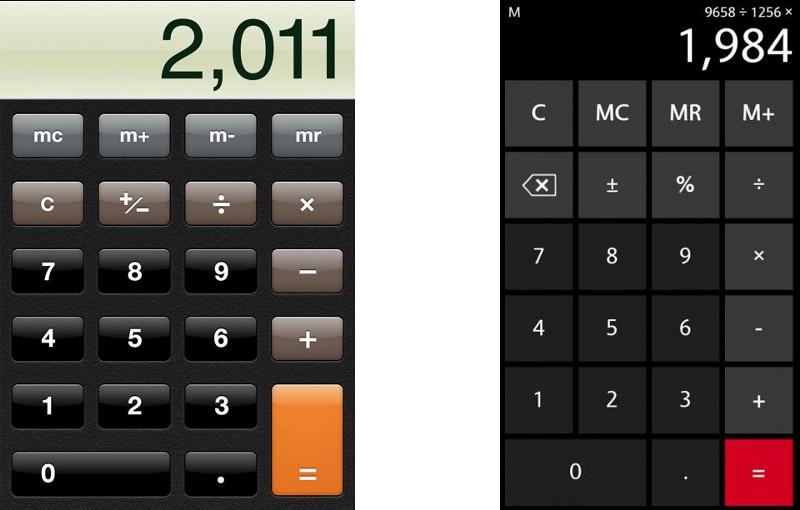 Скевоморфизм калькулятор