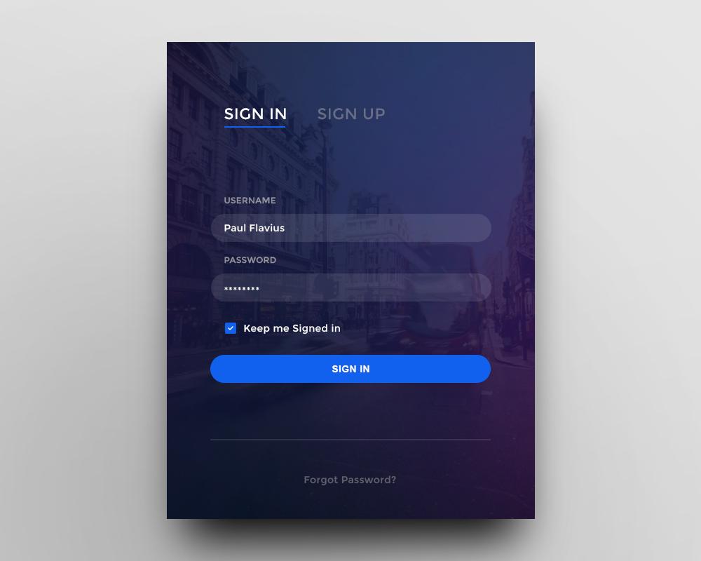 Правила дизайна форм для веб-сайта