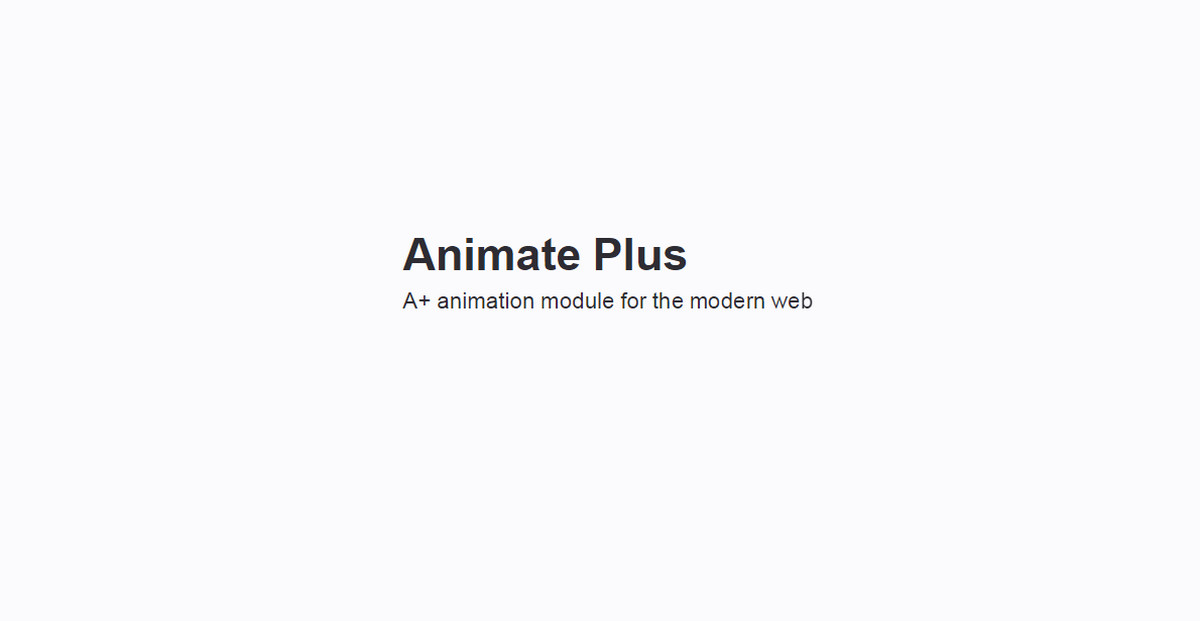 AnimatePlus