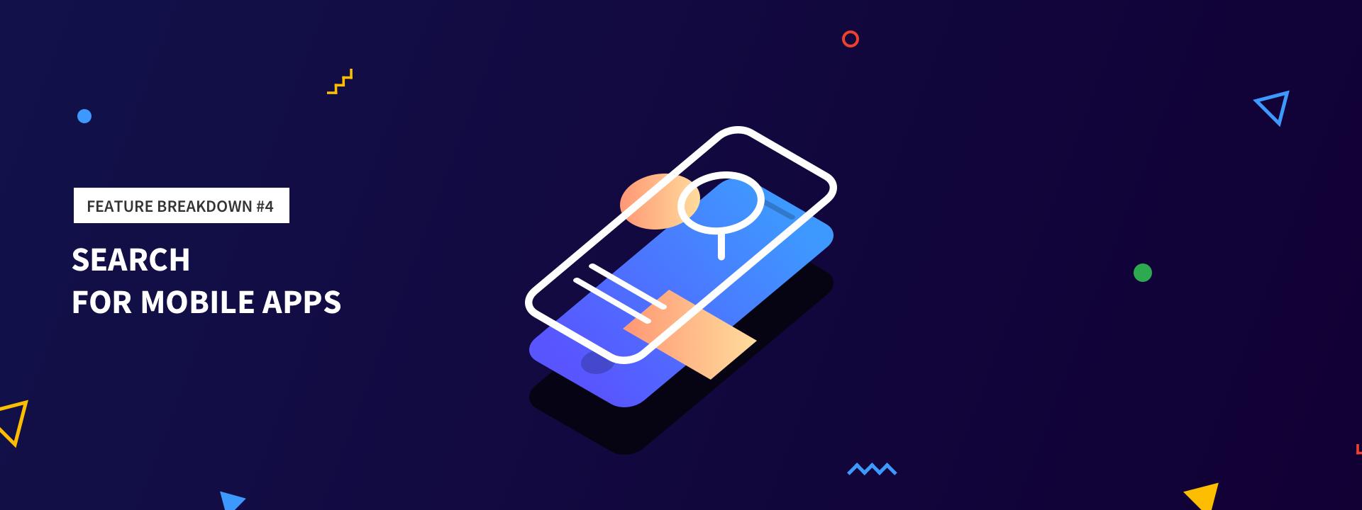 Дизайн поиска в мобильных приложениях