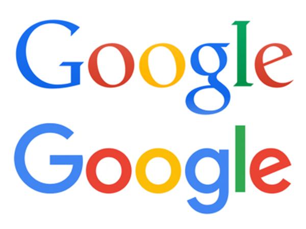 изменения своего логотипа Google