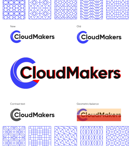 Доработка логотипа CloudMakers