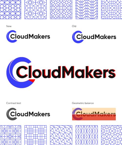 Доработка логотипа CloudMakers